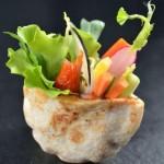 Pita légumes croquants
