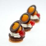 Ganache moelleuse chocolat pamplemousse