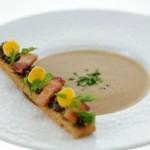 Crème de Lentilles vertes du Puy et sa mouillette
